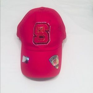 Women's NC State adjustable hat by TOW.